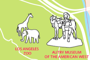 P-22 map L.A. Zoo