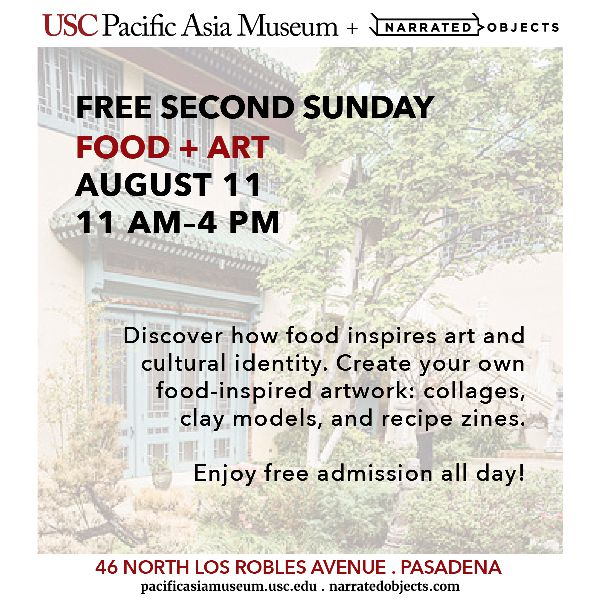 Free Second Sunday at USC Pacifica Asia Museum: Food + Art
